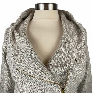 Lucky Brand Knit Hooded Jacket M